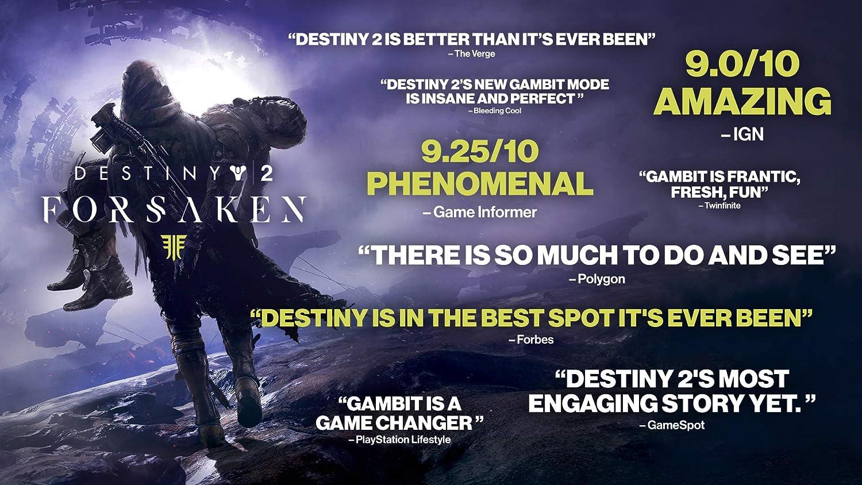 Amazon com: Destiny 2: Forsaken - Legendary Collection