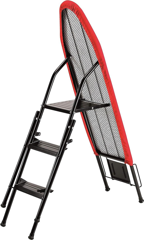 Jata Hogar 848S - Tabla de planchar multifunción (escalera especial centro de planchado), granate: Jata: Amazon.es: Hogar