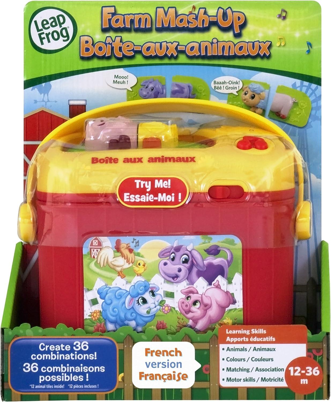 Leapfrog Farm Mash Up French Version Electronics For Kids Amazon Canada
