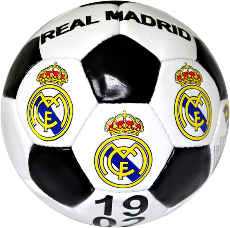 Real Madrid FC Official - Balón de fútbol con escudo (talla 5 ...