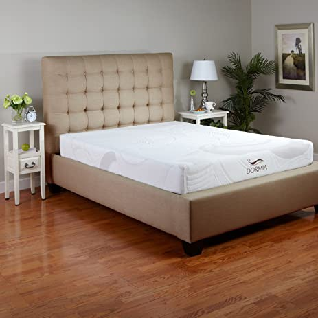 dormia bella 8 inch memory foam mattress queen