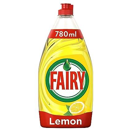 Fairy Ultra Líquido Lavavajillas Lemon sin Remojo ni Grasa - 780 ...