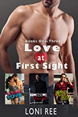 Love at First Sight: Books One-Three Kindle Edition