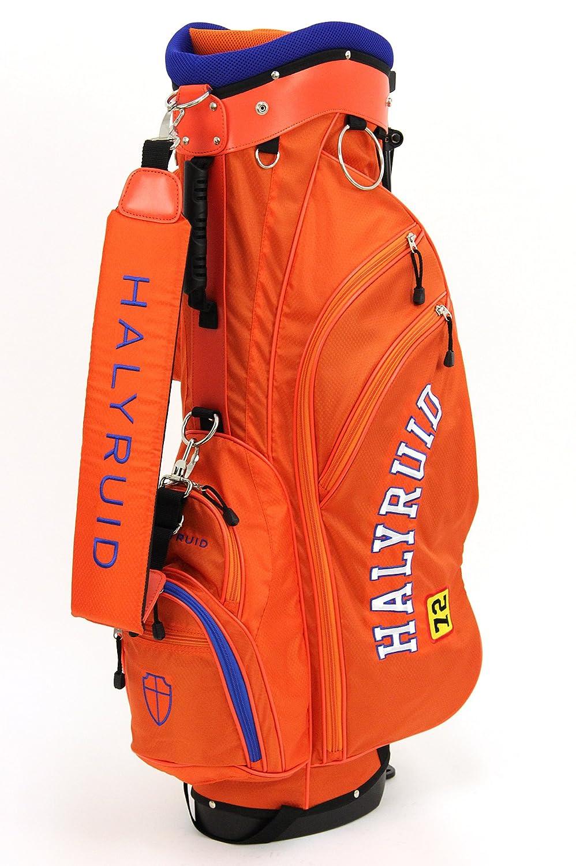 ハリールイド HALYRUID メンズ レディース キャディバッグ スタンド式キャディバッグ 軽量 hu389 B07BPTR2QJ オレンジ(HU38915) オレンジ(HU38915)