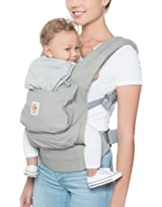 Ergobaby Babytrage Kollektion Original, Ergonomische 3-Positionen Baby-Tragetasche und Rückentrage