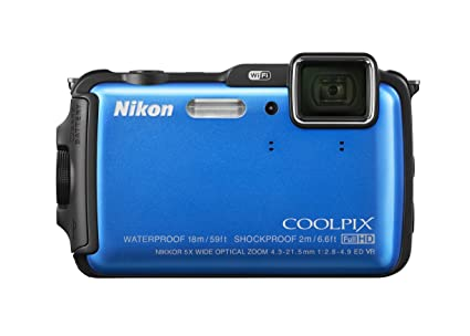 Amazon com : Nikon COOLPIX AW120 16 1 MP Wi-Fi and