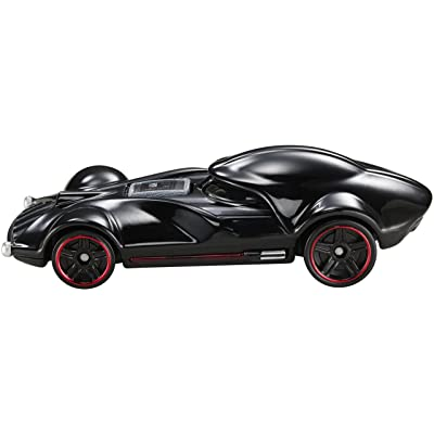 Hot Wheels Star Wars Character Car, Darth Vader: Toys & Games