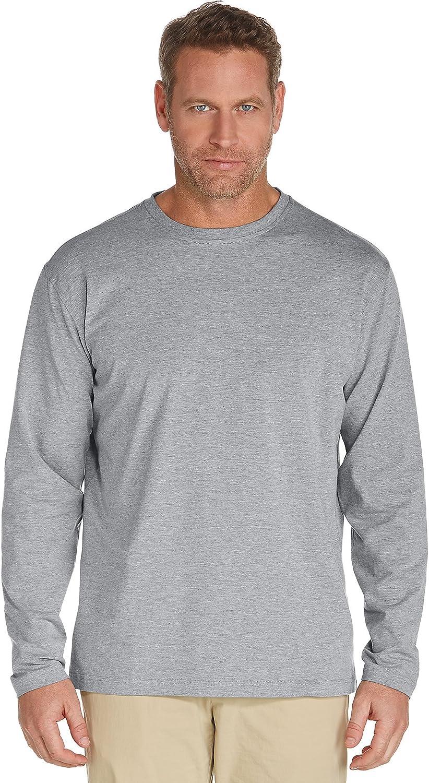 Coolibar Herren ZNO T-Shirt Long Sleeve UPF 50 Plus