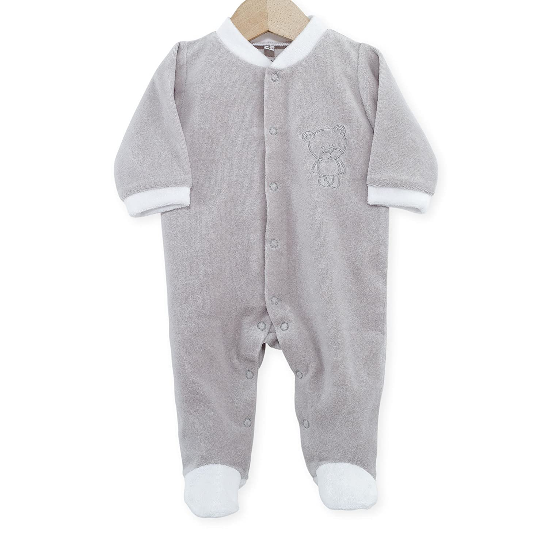Trois Kilos Sept Baby Boys' Footie 1 Month H14-6242 - F