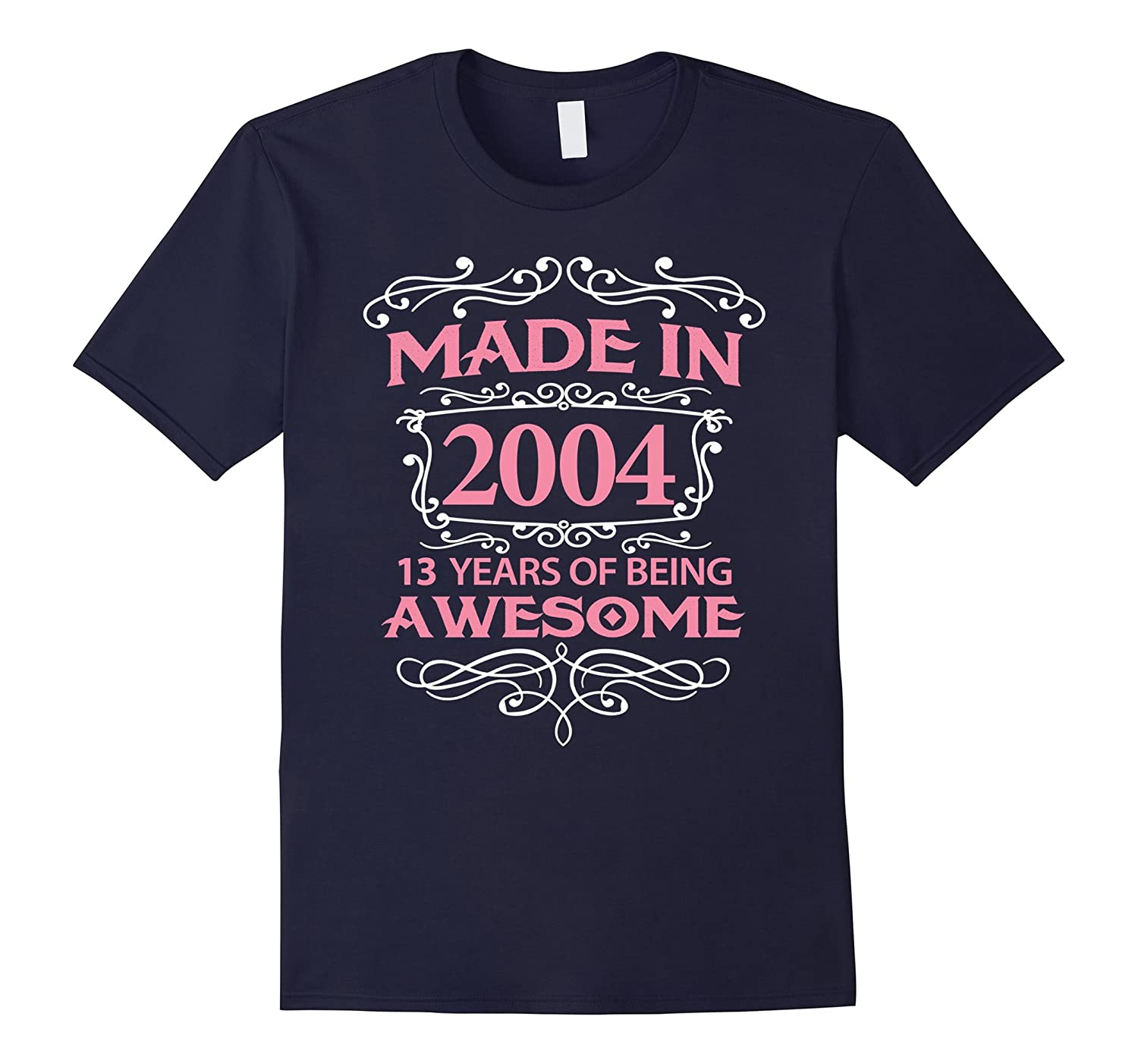 13th Birthday Gift T-Shirt Made In 2004 - 13 Years Old Shirt-ANZ