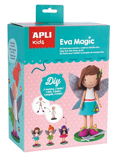 APLI Kids - Fofucha fácil EVA Magic. Pasa ...