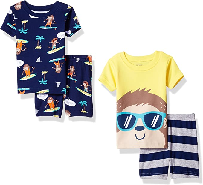 Carters Baby Boys 4 Pc Cotton 321g259