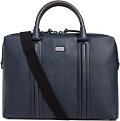 Ted Baker Mens Giiza Briefcase, Navy, One Size