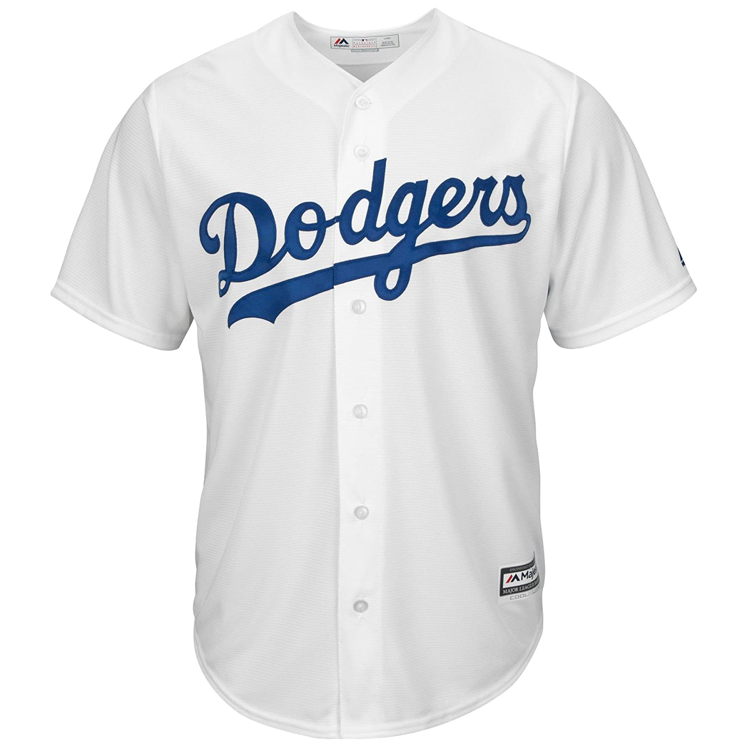 3fd0304c9 Amazon.com   Los Angeles Dodgers Clayton Kershaw Youth Cool Base White  Replica Jersey Large 14-16   Sports   Outdoors