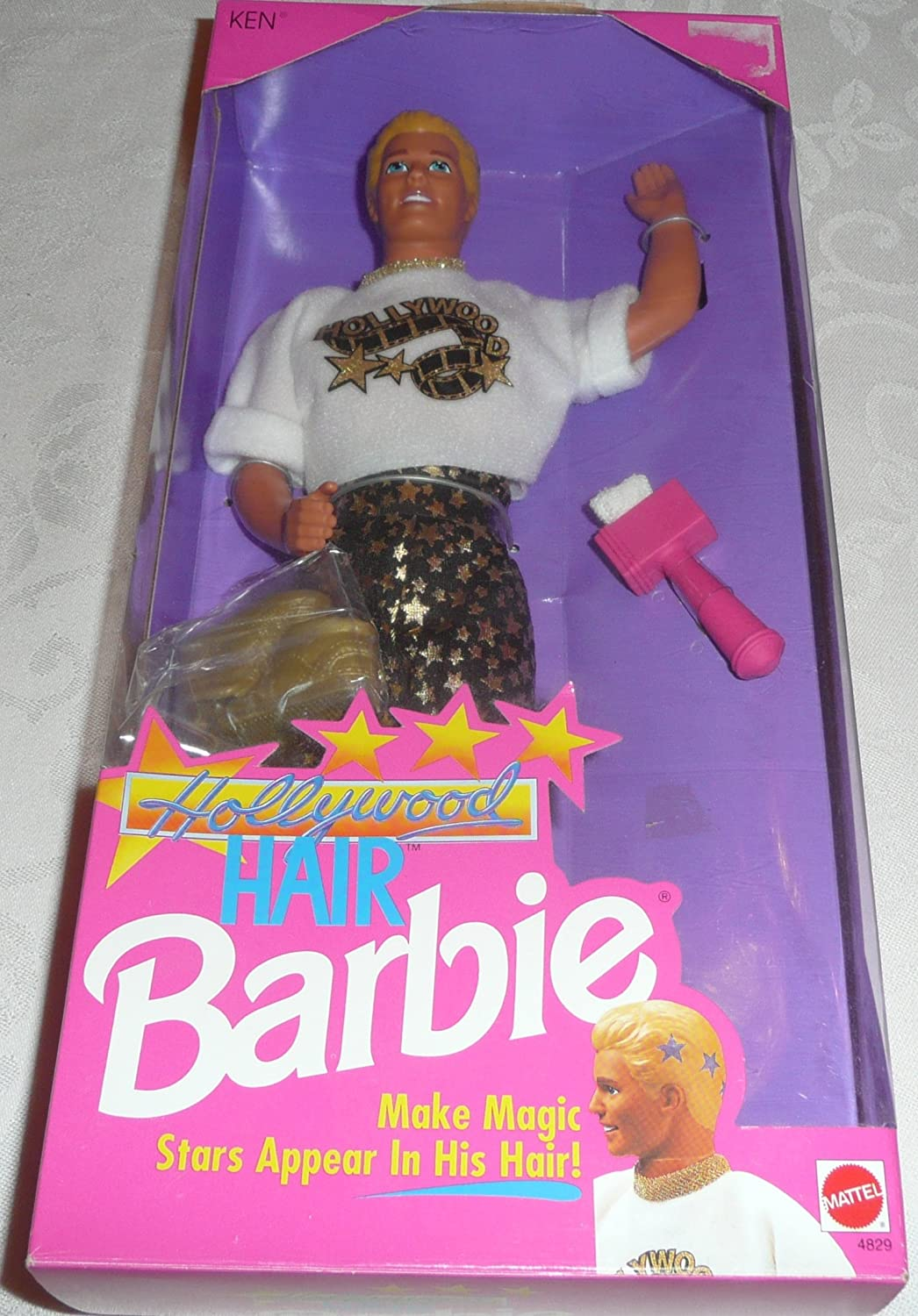 1992 Barbie Hollywood Hair Ken Doll
