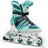 K2 Damen Fitness Inline Skates Alexis 84 Pro, grün-schwarz, 30C0114.1.1