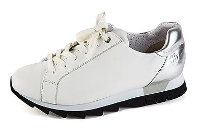 Gerry Weber Damen Komfort Sneaker Low Gold Silber
