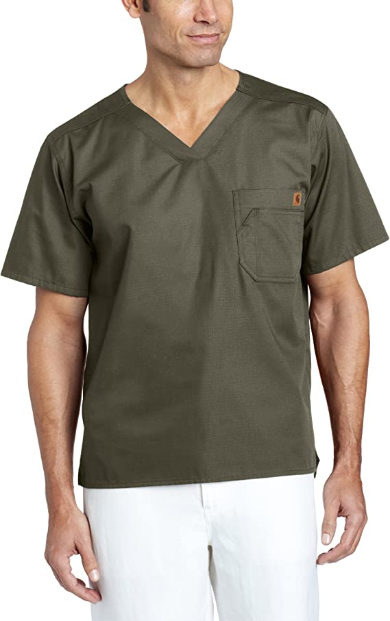 Carhartt Ripstop Utility Scrubs Top Review