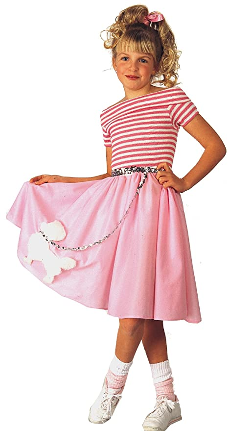 319033c76397 Amazon.com: Rubie's Nifty Fifties Child's Costume, Small: Toys & Games