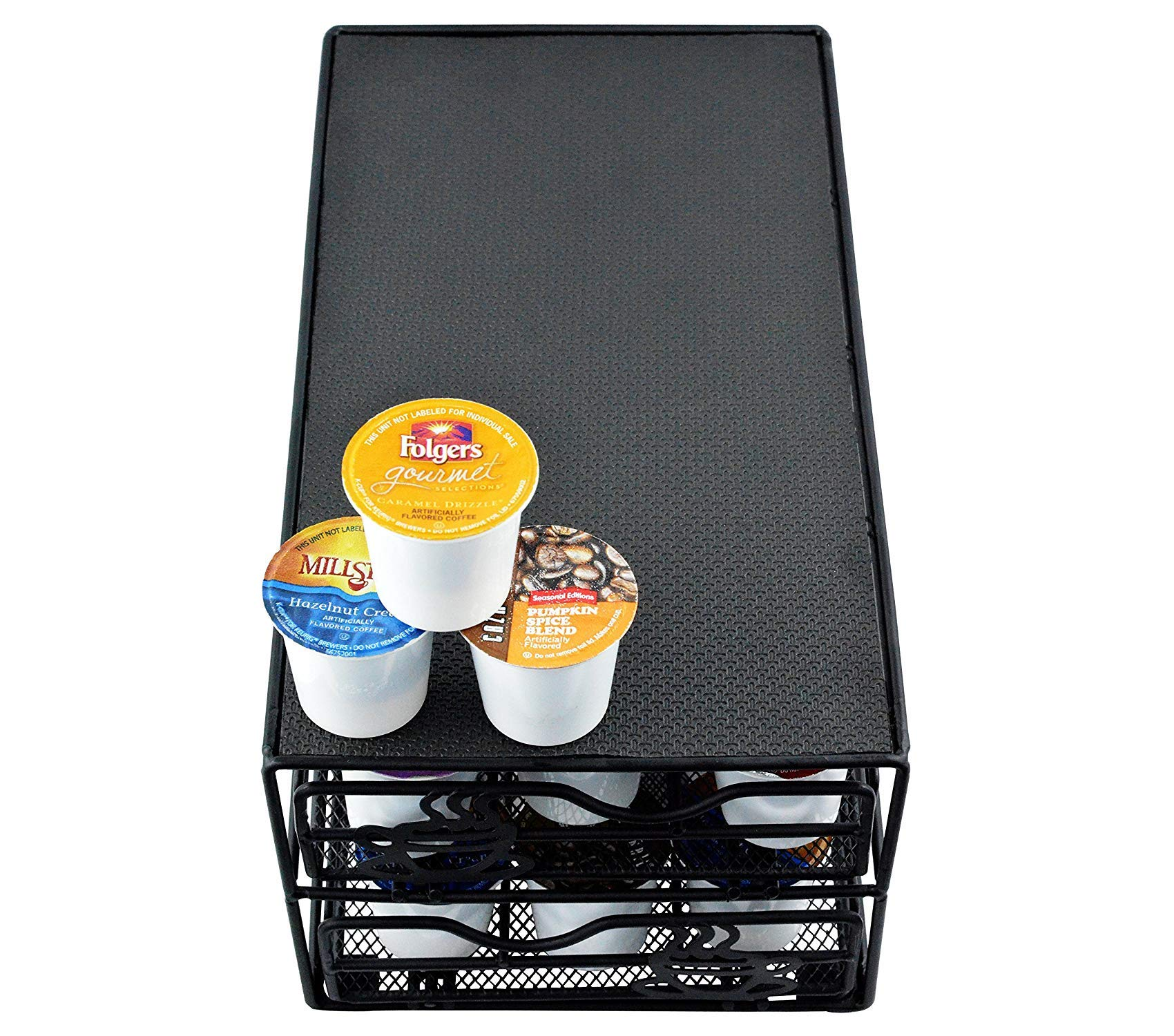 Home Décor Premium 36 Pod 2-Tier Storage Drawer Fits Keurig K-Cups. Storage Durable Strong Decorative by Home Décor (Image #2)