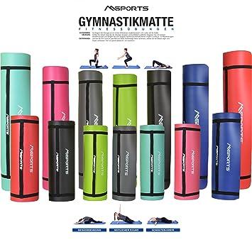 Colchoneta de gimnasia Professional 190 x 60 x 1,2 o 190 x ...
