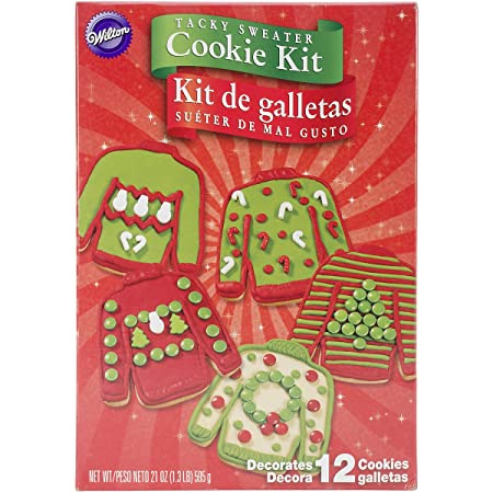 Ugly Sweater Cookie Kit Amazoncouk Kitchen Home