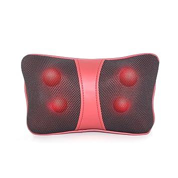 Amazon.com: Almohada de cuello masajeador de espalda Shiatsu ...