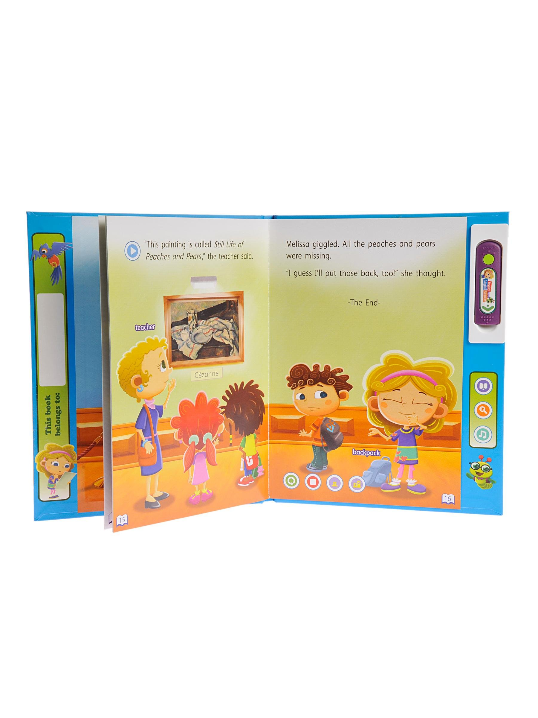 VTech Bugsby Reading System Book - Bugsby and The Magical Museum by VTech (Image #3)