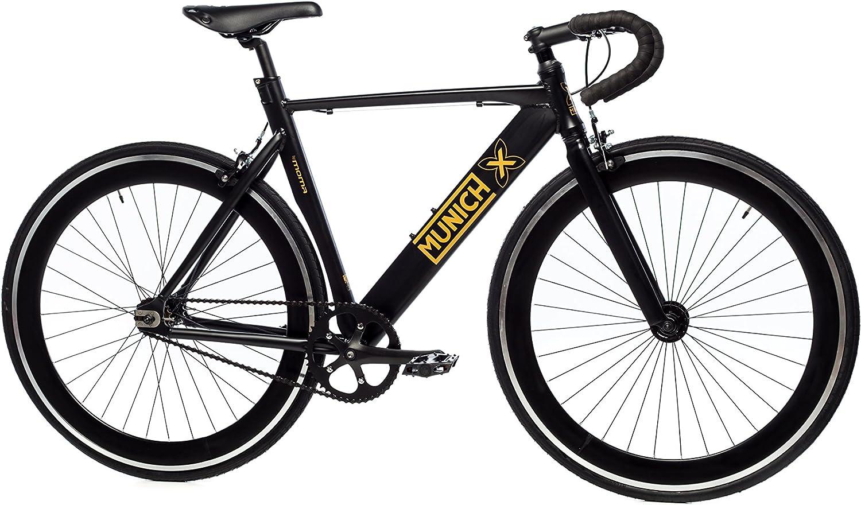 Moma Bikes Bicicleta Fixie Urbana, Fixie MUNICH GLAM, Full Alu ...