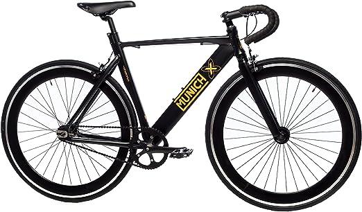 Moma Bikes Bicicleta Fixie Urbana, Fixie MUNICH GLAM, Full Alu (Varias Tallas): Amazon.es: Hogar