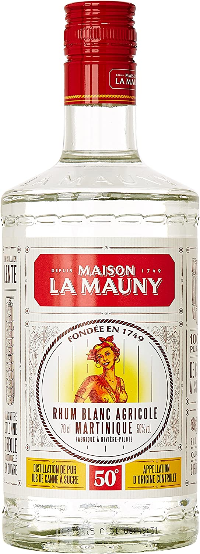 La mauny Blanc Ron (1 x 0,7 l)