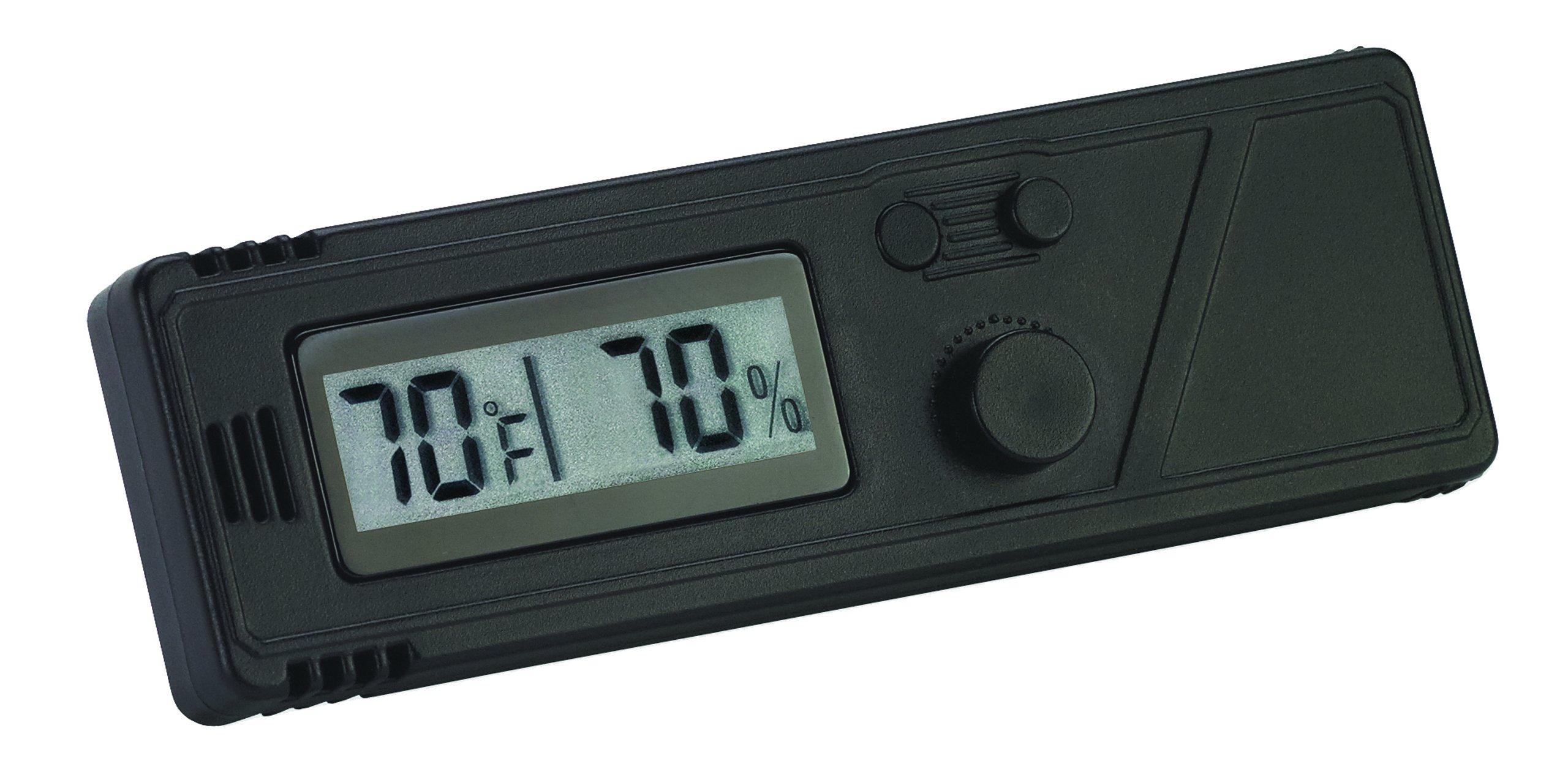HygroSet Slim Line Digital Hygrometer by Hygroset
