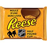Reese Peanut Butter Cup Candy, Half Pound Cup, 226-Gram
