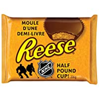 REESE Christmas Half Pound Cup, Peanut Butter Chocolate Candy, 226-Gram