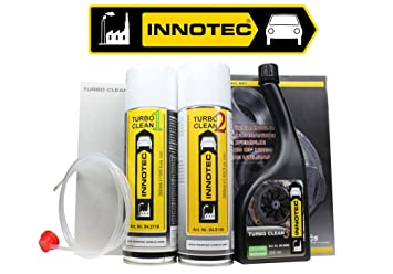 innotec Turbo Clean Juego Set de limpieza para Turbocompresor Plus gratis de sonda: Amazon.es: Coche y moto