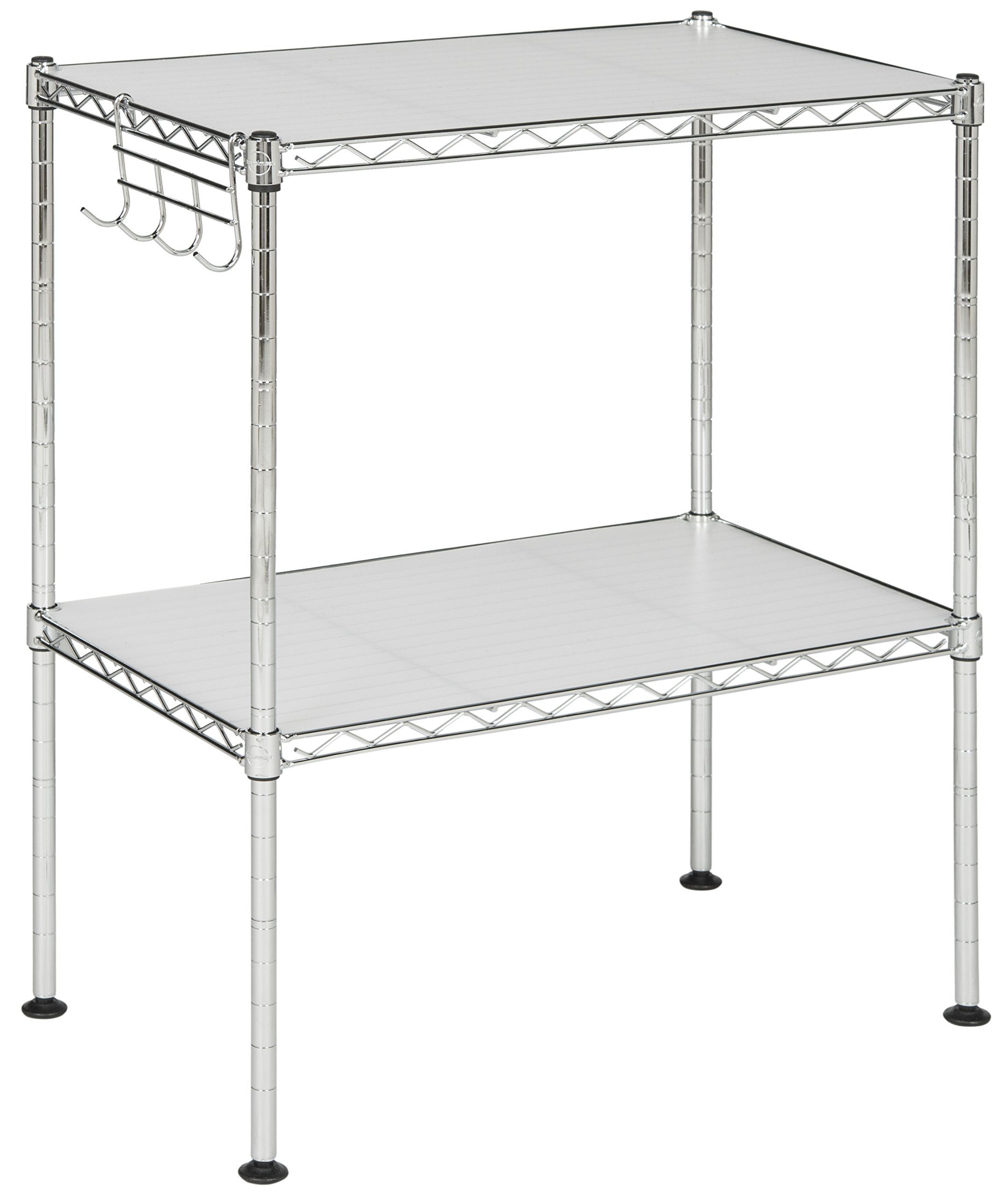 happimess HPM5013A Racking, 19.69 in. W x 11.81 in. D x 23.62 in. H, Silver by happimess (Image #3)