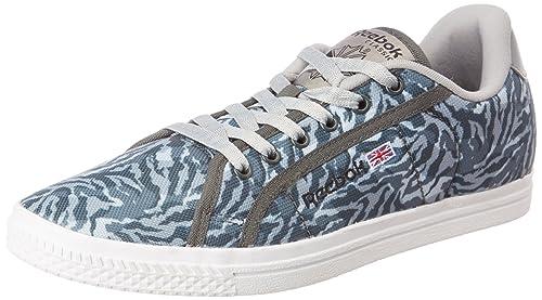 Reebok Classics Women s Court Grey Camo and White Sneakers - 6 UK India (39 c96e8a1efc3f7