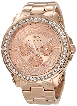 Amazoncom Juicy Couture Womens 1901083 Pedigree RoseGold Plated