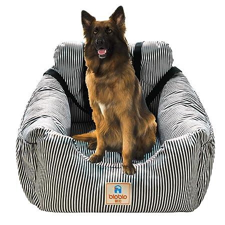Hunde Autositz, Waschbar Auto Hundebett, Rutschfeste Katze Reisen Front Booster Sitze mit Abnehmbare HundeKissen