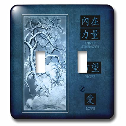 3dRose Lsp_127593_2 Blue Hues, Restored Vintage Chinese Plum Blossom  Painting By Zhang Yan From 1639