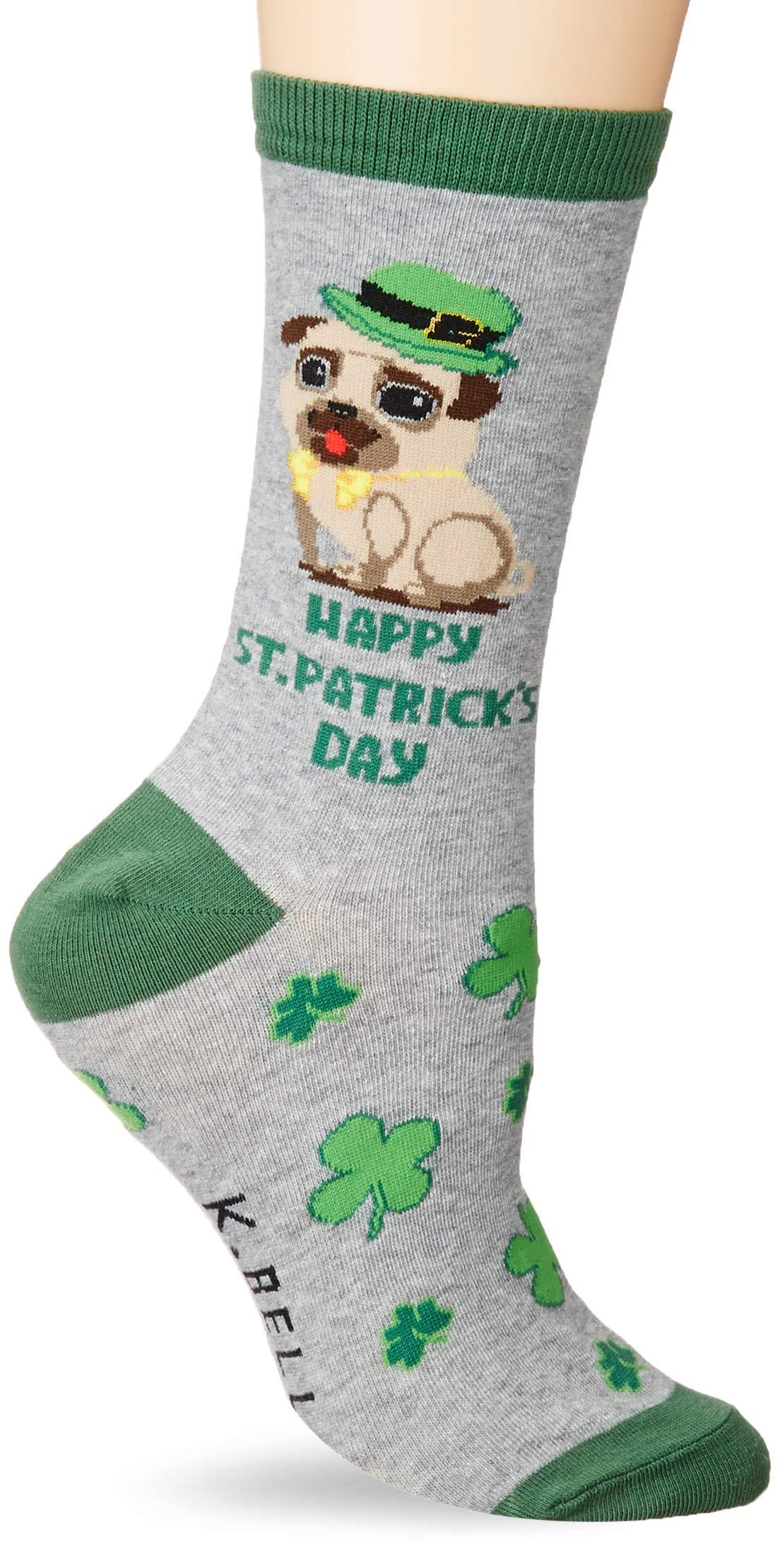 K. Bell Socks Women's Dog Lover Novelty Casual Crew Socks 2
