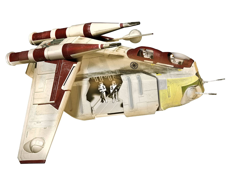 Revell 06687 - Easykit Steckbausatz - Republic Gunship, Clone Wars, Maßstab 1:74 Maßstab 1:74