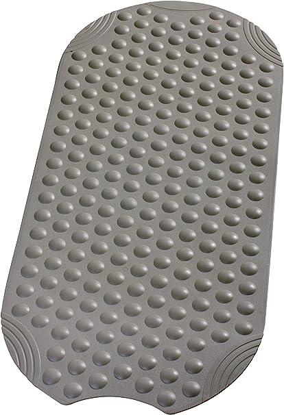 38x89cm GRAUE Badewannenmatte Wanneneinlage mit Saugnäpfen von RIDDER TECHNO