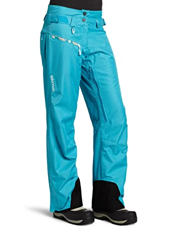 classic style quality genuine shoes Salomon Sideways II Pant W - Bay Blue - XL - Womens ...