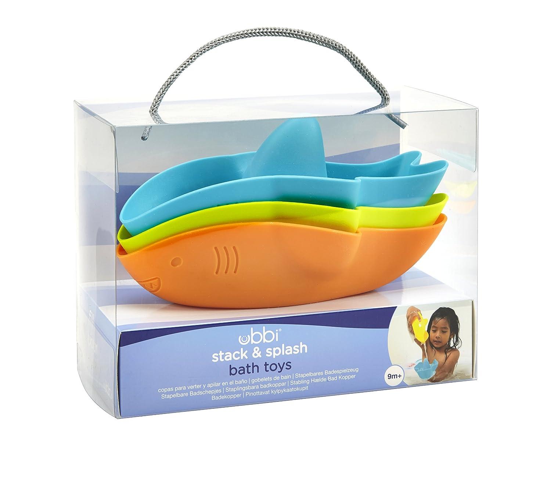 UBBI PH-10521 Stack & Splash Bath Toy - Shark Pearhead Inc.