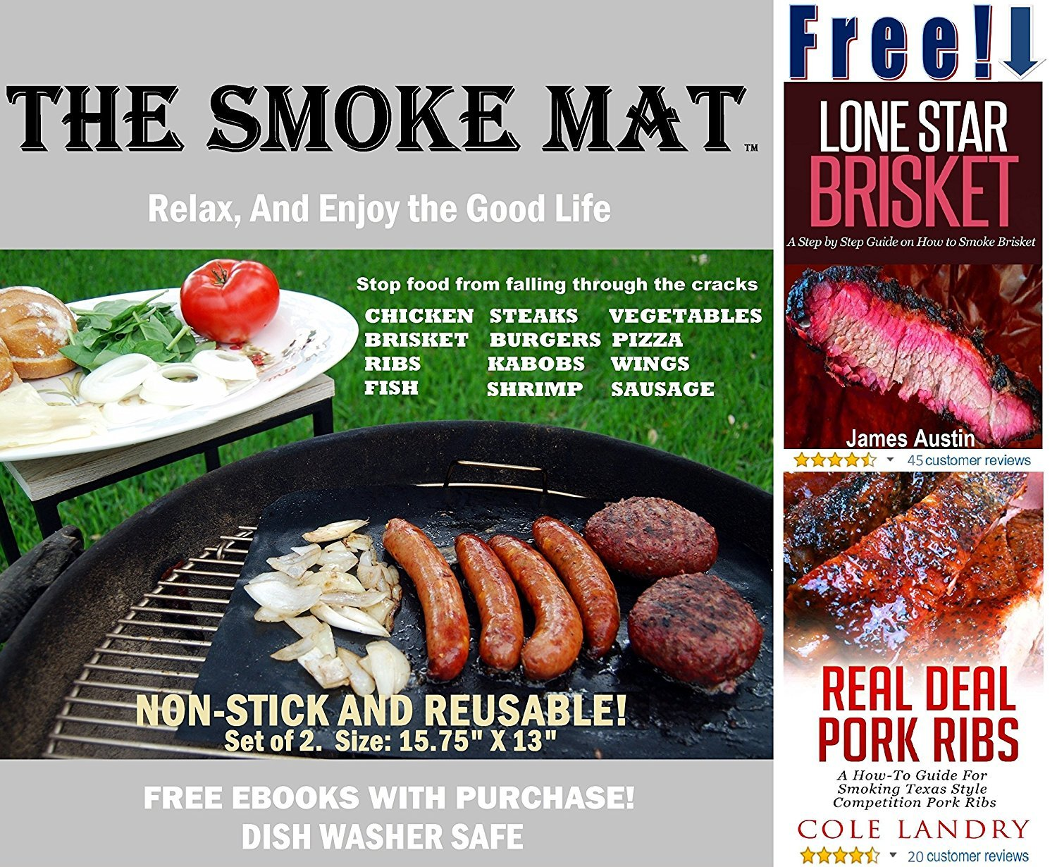 The Smoke Mat Smoke Grill Mat All In One Free 140