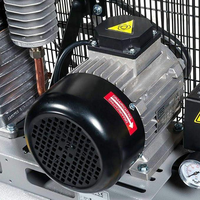 Airpress HK 425-100 - Compresor de aire (3 CV, 2,2 kW, 10 ...
