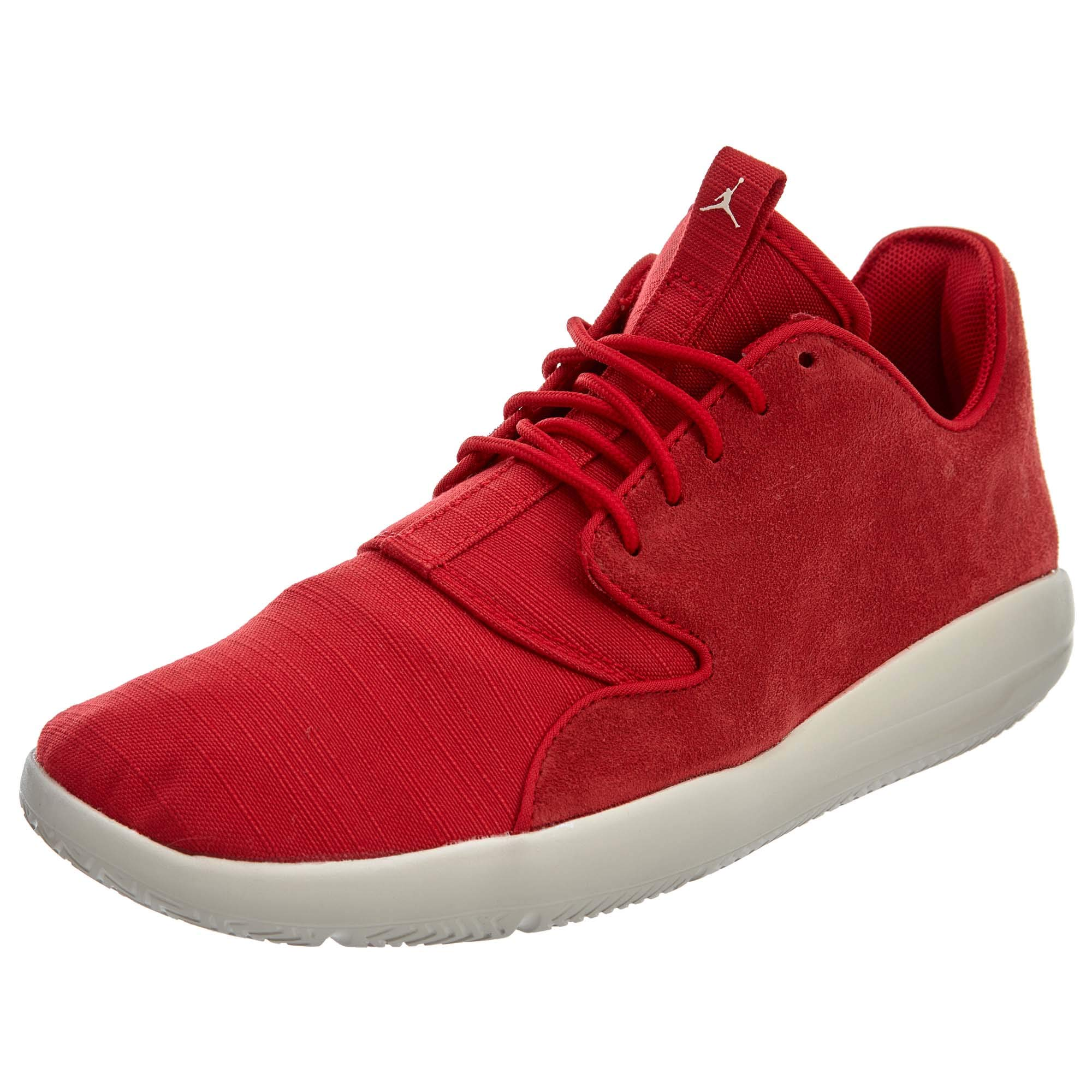 d48385cf7ec9a Jordan Mens Eclipse Leather Gym RED LT Orewood BRN Size 8