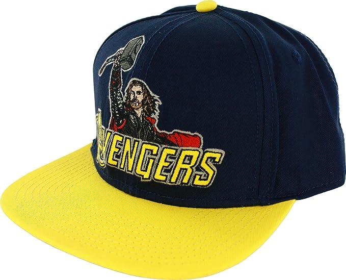 7fd8a8c6388 Amazon.com  Marvel Avengers Thor Blue Mens Snapback  Clothing