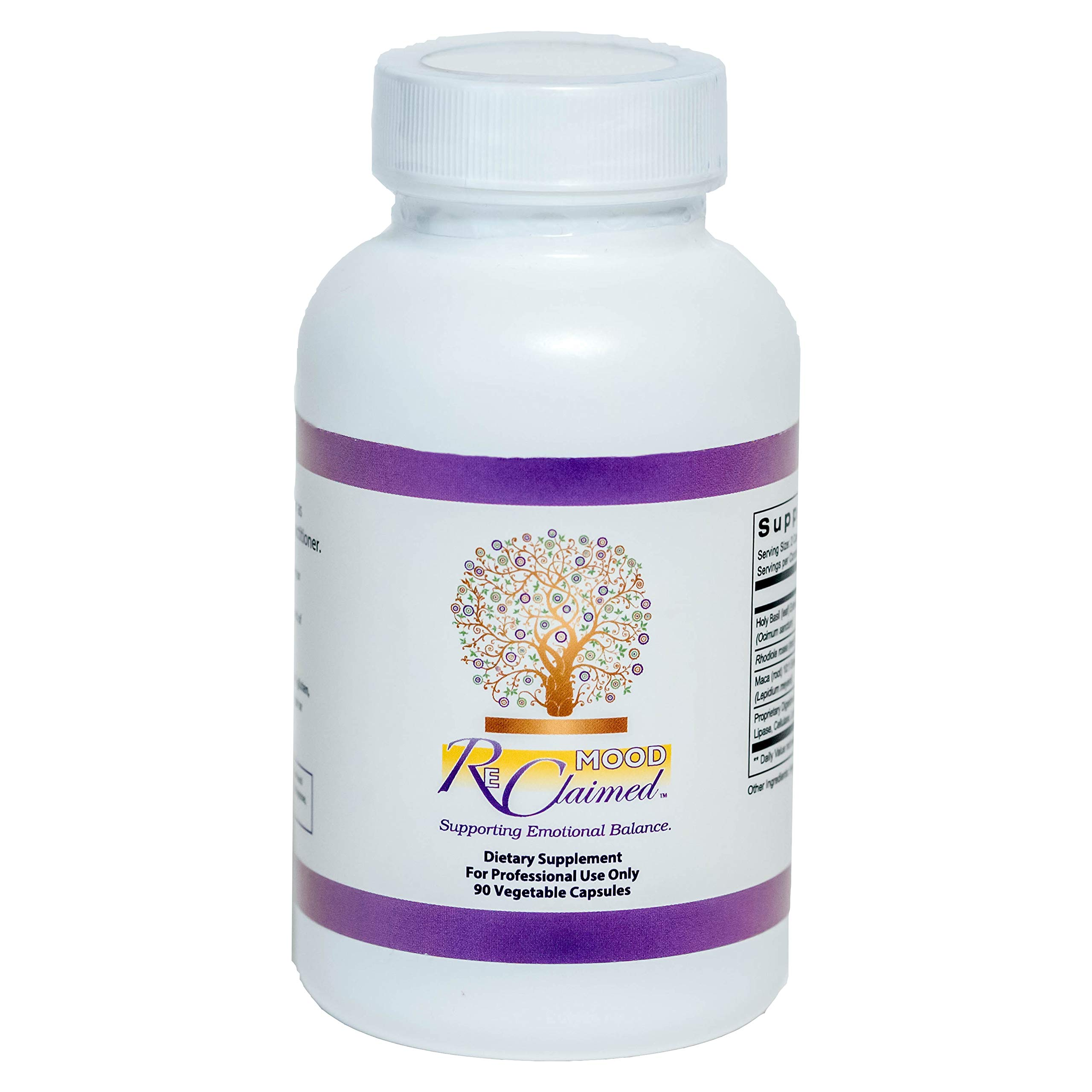 Mood Reclaimed Dietary Supplement, 90 Capsules, Supporting Emotional Balance by SHAPE ReClaimed